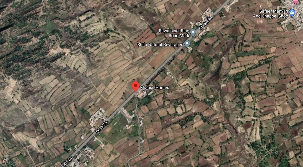 khanial homes map